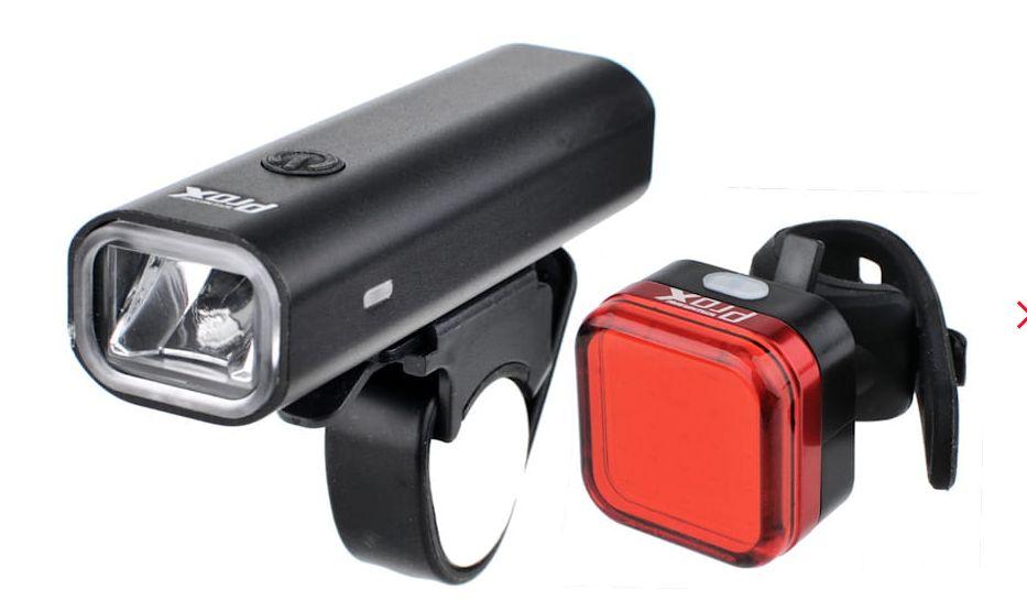Prox Aero III Set USB - zestaw lampek rowerowych A-O-B-P-0355
