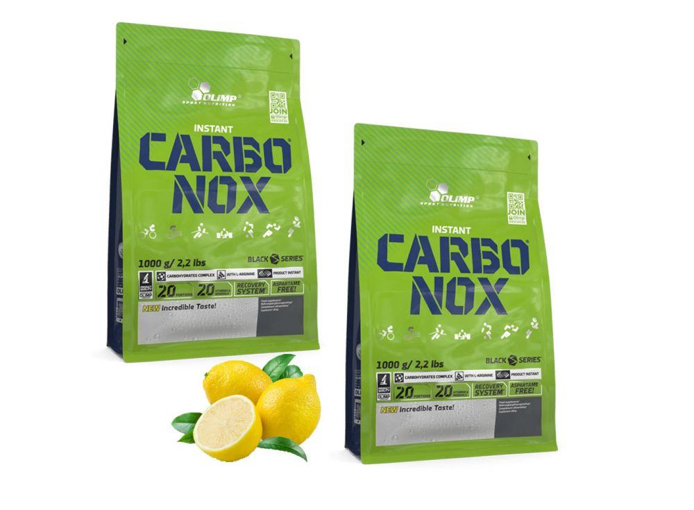 Węglowodany dla biegaczy Olimp Carbonox 2x 1 kg - cytryna