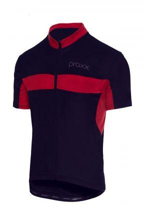Praxx Thermoactive Cycling Jersey | GRANATOWO-CZER