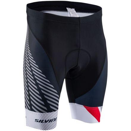 SILVINI Men's Cycling Shorts Team | BLACK/RED
