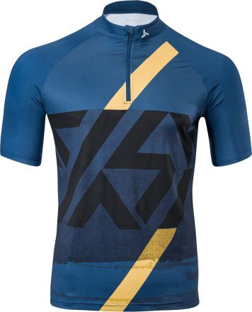 SILVINI Men's  MTB Cycling Jersey  | BLUE/BLACK