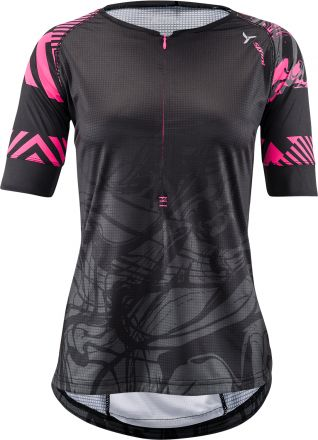 SILVINI women's MTB jersey Stabina | BLACK/PINK