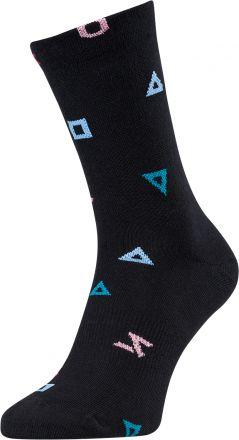 SILVINI cycling socks Dogana | BLACK/TURQOISE