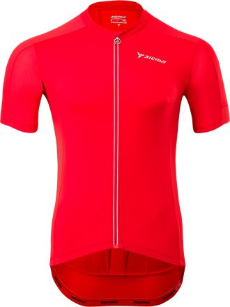 SILVINI men's cycling jersey CENO | RED/CLOUD