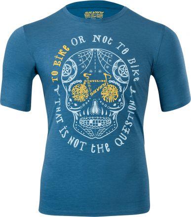 SILVINI men's MTB jersey Berici | BLUE/LAKE