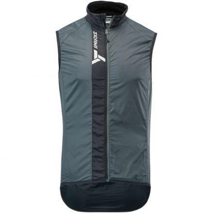 SILVINI men's ultra light vest GARCIA | CHARCOAL/BLACK