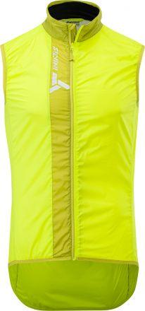 SILVINI men's ultra light vest GARCIA | LIME/OLIVE