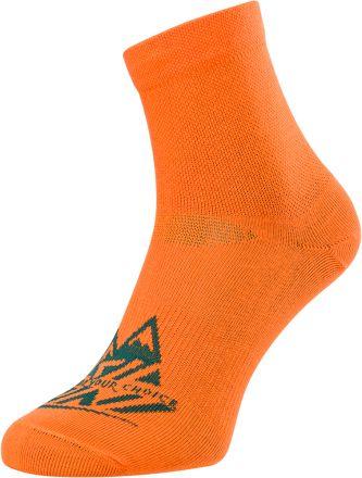 SILVINI Enduro MID Socks Orino | ORANGE/OCEAN