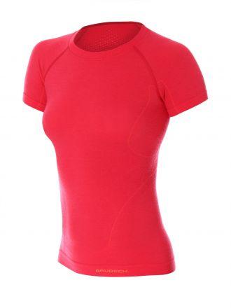 Brubeck Active Wool Women's T-Shirt | MALINOWY
