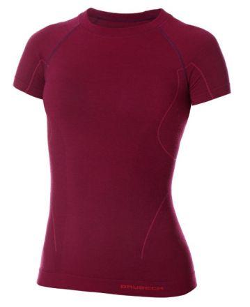 Brubeck Active Wool Women's T-Shirt | ŚLIWKOWY