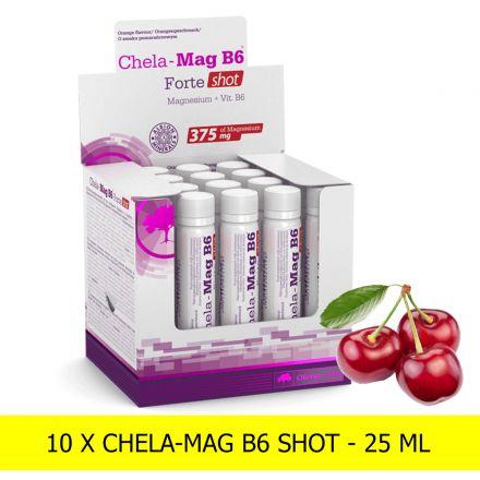 Olimp Chela-Mag B6 Forte Shot 10X25ml - [ WIŚNIOWY ]