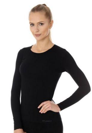 Brubeck Women's longsleeve shirt | CZARNA