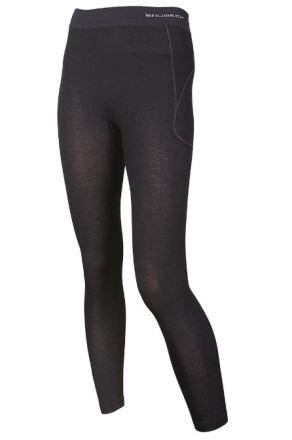 Brubeck Active Wool  Women's Pants | CZARNE
