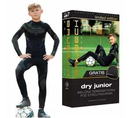 Brubeck Dry Junior Set + Cap | CZARNY-GRAFIT