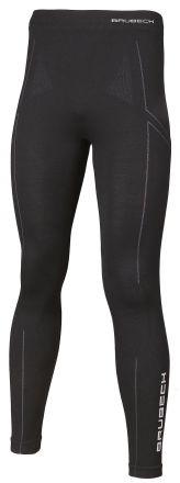 Brubeck Extreme Wool Men's Long Pants | BLACK