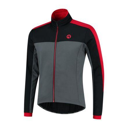 Rogelli Winterjacket Freeze | GREY/BLACK/RED