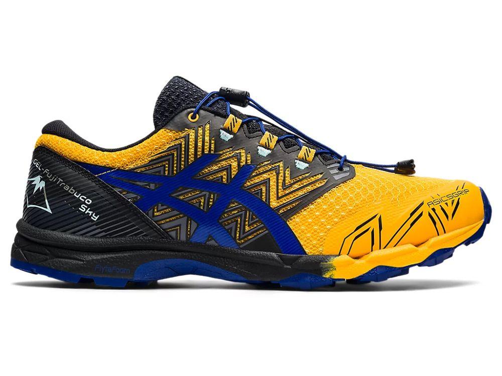 Asics Gel-Trabuco SKY | SUNFLOWER/BLUE - Męskie buty do biegania w terenie