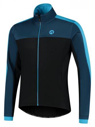 Rogelli Winterjacket Freeze | BLACK/BLUE