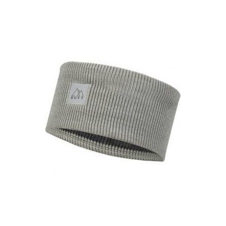 Buff Knitted Headband   CROSSKNIT LIGHT GREY
