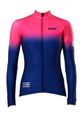 FDX Women's Thermal Jersey | NAVY-PINK