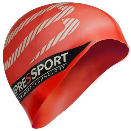 Compressport Swimcap | CZERWONY