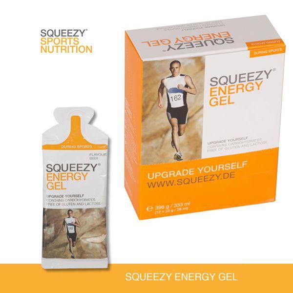 SQUEEZY - Energy Gel owocowy 12x33g żele energetyczne