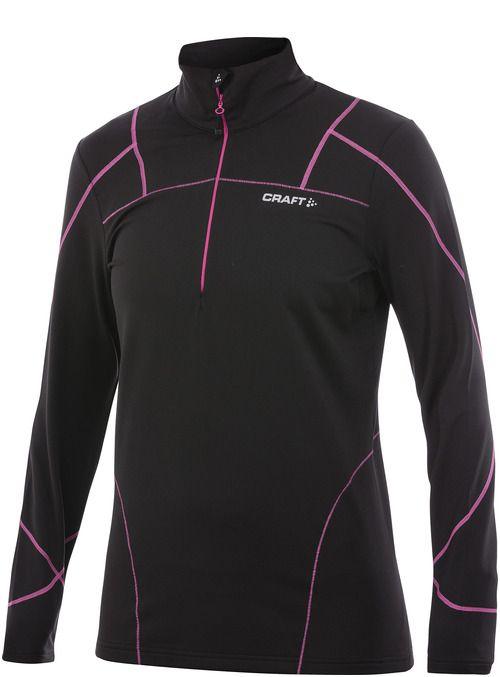 Damska bluza do biegania Craft Thermal Stretch Pullover