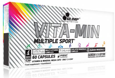 Olimp Vita-min 60 kapsułek - witaminy i minerały