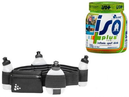Craft Water Belt + Olimp Iso Plus 700g