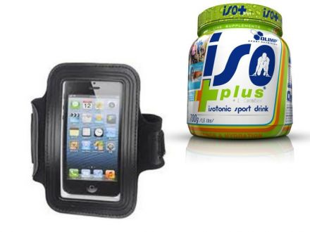 Ronhill MP3 Armband + Olimp Iso Plus 700g GRATIS