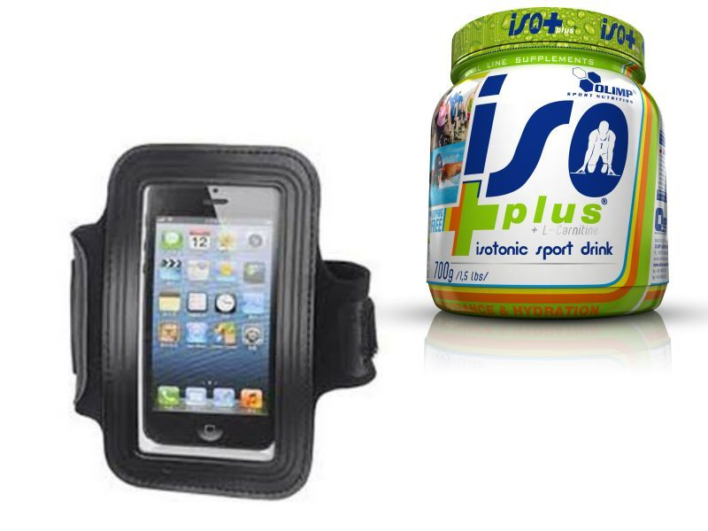 Ronhill MP3 Armband + Olimp Iso Plus 700g GRATIS