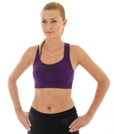 Damski top sportowy Brubeck Crop Top CR10070