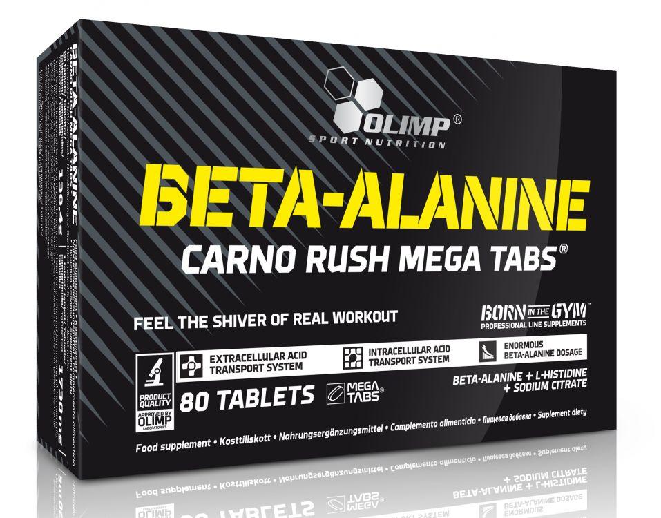 Olimp Beta-Alanine Carno Rush Mega Tabs