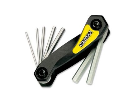 Pedros Folding Hex Wrench Set