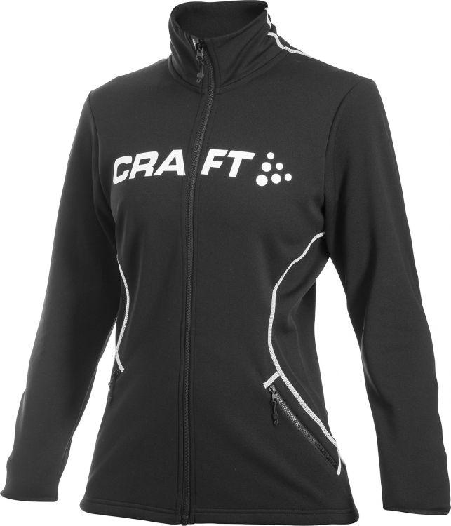 Damska bluza sportowa Craft Logo Full Zip W