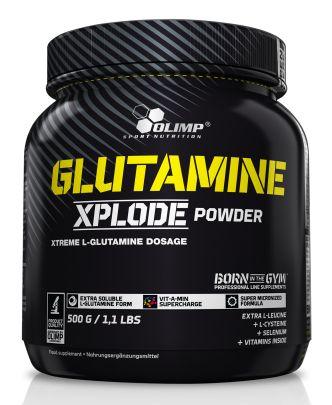Olimp Glutamine Xplode 500g - aminokwasy, lepsza i skuteczna regeneracja