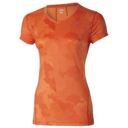 Asics Allover Graphic Top SS - damska koszulka biegowa