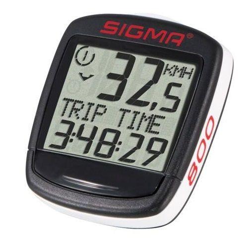 Sigma 800 - licznik do roweru