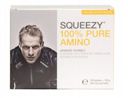 SQUEEZY 100% PURE AMINO - przyspieszona regeneracja