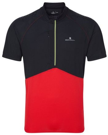 Ronhill Trail S/S Zip Tee