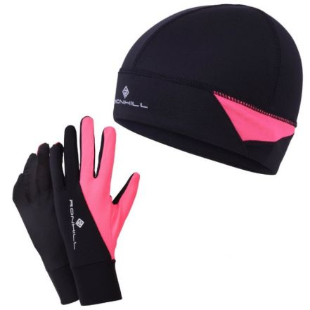 Ronhill Vizion Beanie & Glove Set