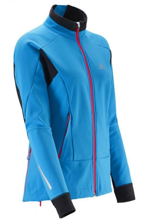 Kurtka do biegania damska Salomon Momemtum SoftShell Jacket