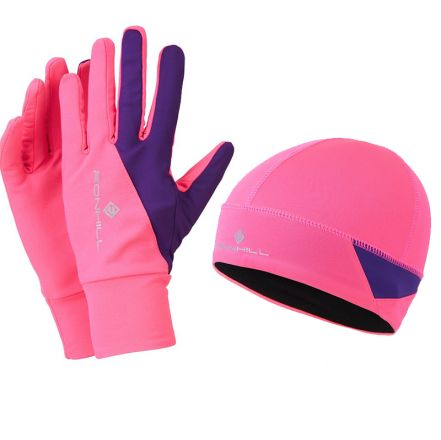 Ronhill Vizion Beanie & Glove Set - zestaw rękawiczki plus czapka