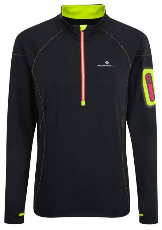Ronhill Wms Vizion Winter 1/2 Zip - damska bluza do biegania 001371_848