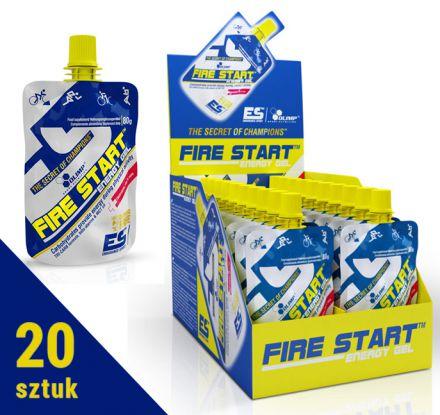 Olimp Fire Start 20x80g - [pomarańcz]
