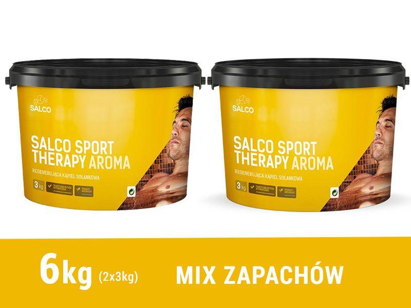 Sól regeneracyjna dla sportowców Salco Sport Therapy