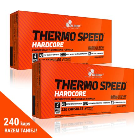 Olimp Thermo Speed Hardcore 240 kaps (2x120kaps)