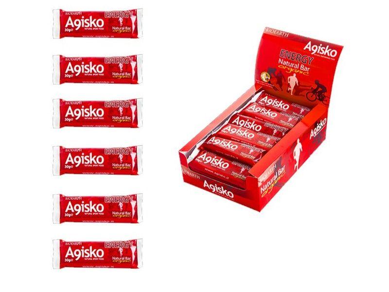 Agisko Energy Natural Bar Organic [6szt]