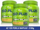 Olimp Iso Plus 2100g (3 x 700g) [cytrynowy]