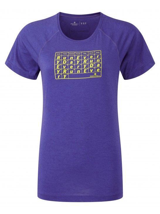 Ronhill Advence EveryDay S/S Tee - damska koszulka do biegania